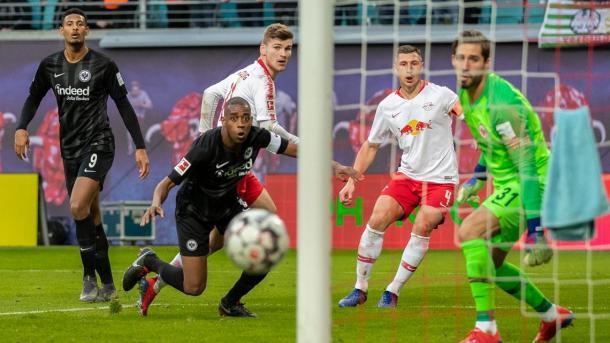 (RB Leipzig 0-0 E. Frankfurt   Foto: Getty Images)
