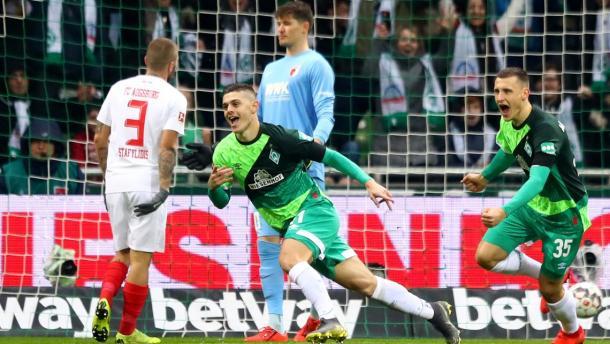 (W. Bremen 4-0 Augsburg   Foto: Getty Images)
