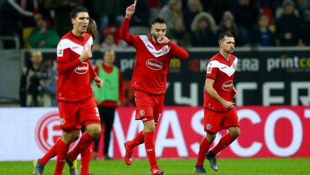 (F. Düsseldorf 3-0 Stuttgart   Foto: Getty Images)