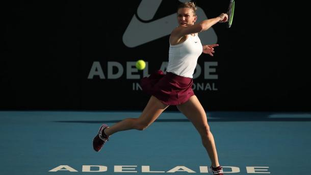 Halep played an efficient match as she reached the quarterfinals/Photo: Paul Kane/Getty Images