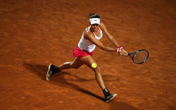 Muguruza was in fine form as she easily advanced/Photo: Clive Brunskill/Getty Images