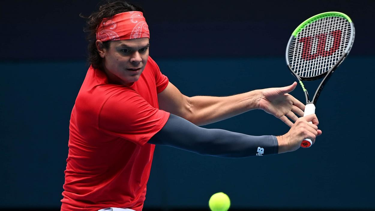 Raonic gave Canada the early lead with some strong play/Photo: Quinn Rooney/Getty Images