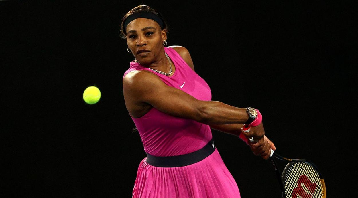 Williams will look to equal Margaret Court's record of 24 major titles/Photo: Graham Denholm/Getty Images