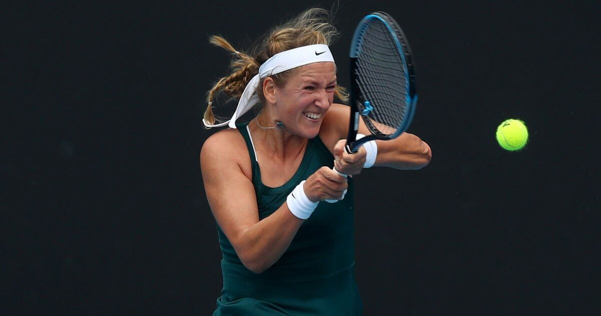 Azarenka in action at the Grampians Trophy/Photo: Mike Owen/Getty Images