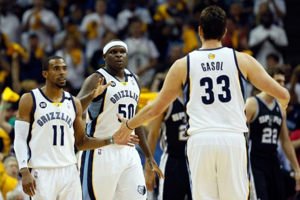 Every year it seems like the Memphis Grizzlies may fall but they just keep winning. Photo: Kevin C. Cox/Getty Images