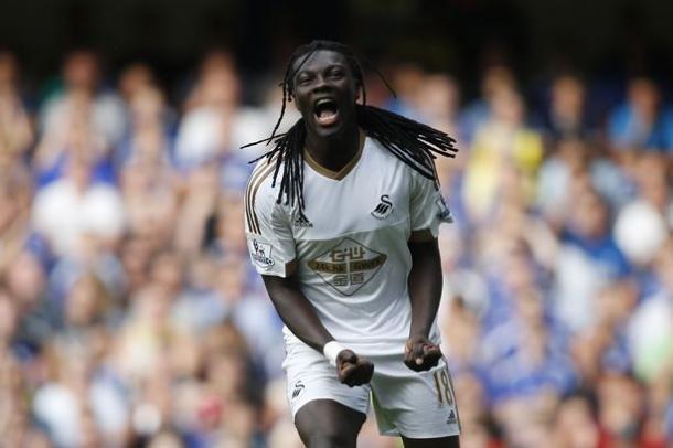 Gomis dejaría Swansea este verano para ir al Galatasaray | Foto: Getty Images