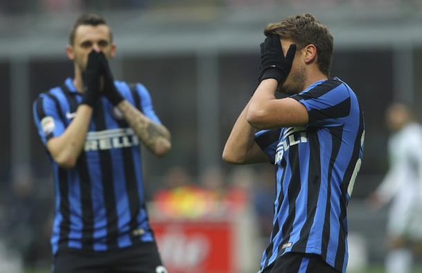 Inter looked down and out after the first leg | photo: gettyimages