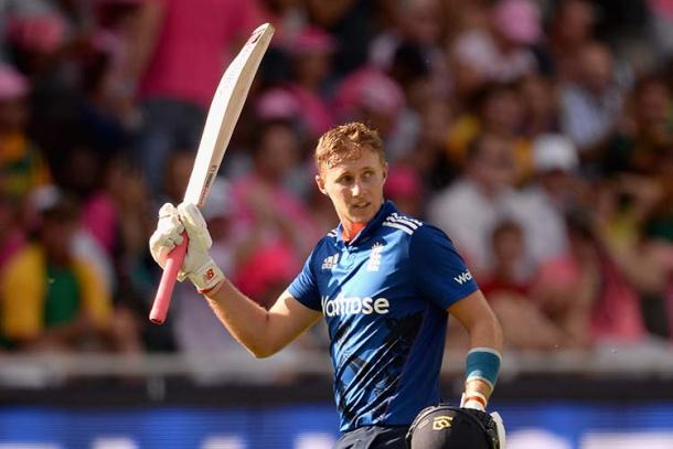 Joe Root celebrating after scoring his second consecutive century in the fourth ODI at Johannesburg | Photo: Getty Images