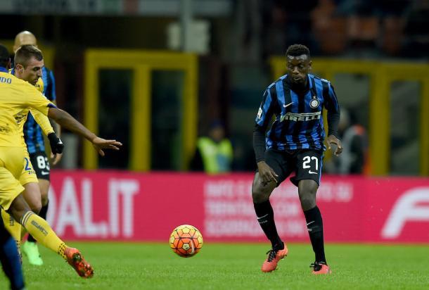 Assane Gnoukouri in azione con l'Inter | passioneinter.com