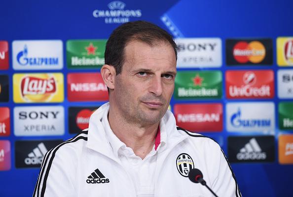 Massimiliano Allegri. Foto: Getty Images
