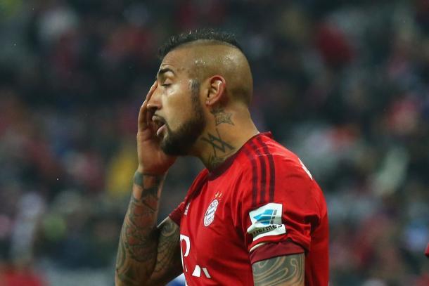 Na opinião de Vidal, o Bayern merecia ir à final (Foto:Alexander Hassenstein/Getty Images)