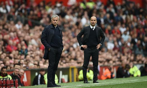 Guardiola e Mourinho inseguono Klopp. | Foto: panorama.it