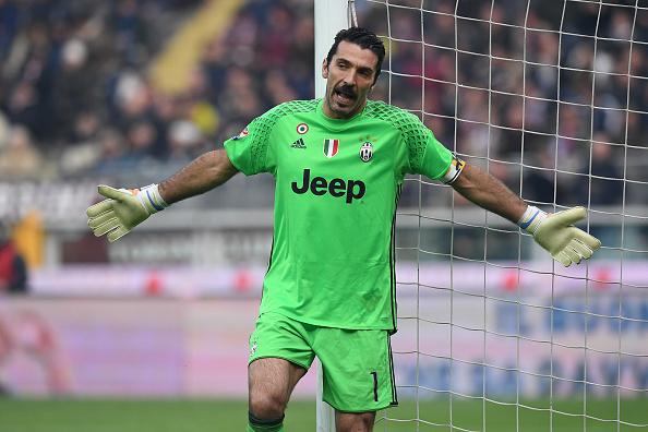 Il portiere della Juventus, Gigi Buffon. Foto: Getty Images