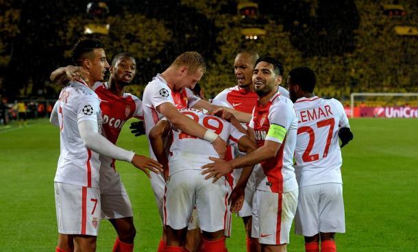 O Mónaco de Leonardo Jardim segue na frente  | Foto: Site Oficial Liga dos Campeões