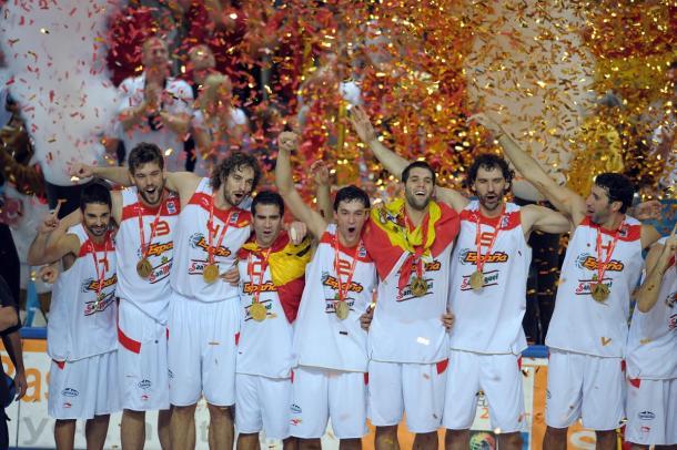 España gana el Eurobasket 2009 / feb.es