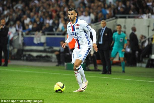 Ghezzal is highly rated in France and may make a late move to the Premier League. Photo: Daily Mail