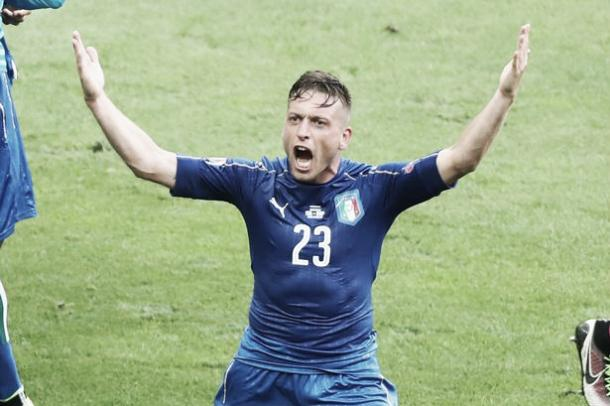 Above: Emanuele Giaccherini in action for Italy at Euro 2016 | Photo: Getty Images