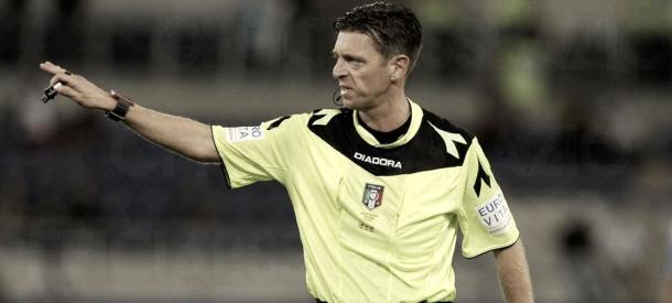 Gianluca Rocchi, árbitro para la Champions | Foto: uefa.com