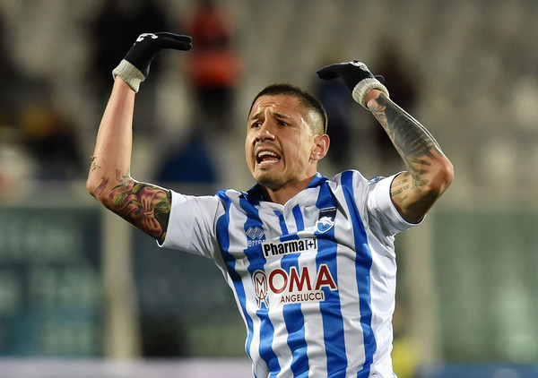Gianluca Lapadula. Fonte foto: Getty Images Europe.