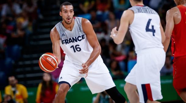 Rudy Gobert é um dos melhores jogadores da sua posição na atualidade (Foto: Divulgação/FIBA)