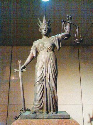 Temis, en la Corte Suprema de Queensland (Australia). PD.