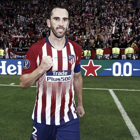 Godín, en la Final de la Europa League / Foto: Club Atlético de Madrid.