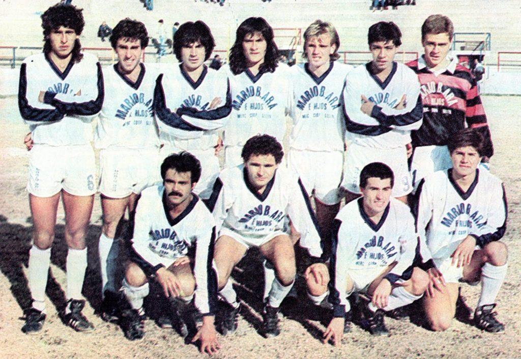 Ese año, el Expreso solo perdió 4 partidos. Foto: prensa Godoy Cruz.