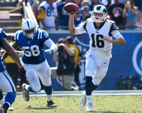 Jared Goff shined on opening day