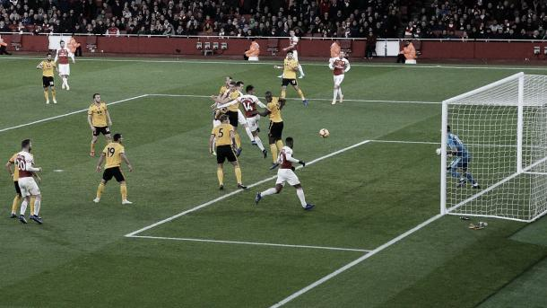 Mkhitaryan anotó el 1-1. Foto: Premier League.