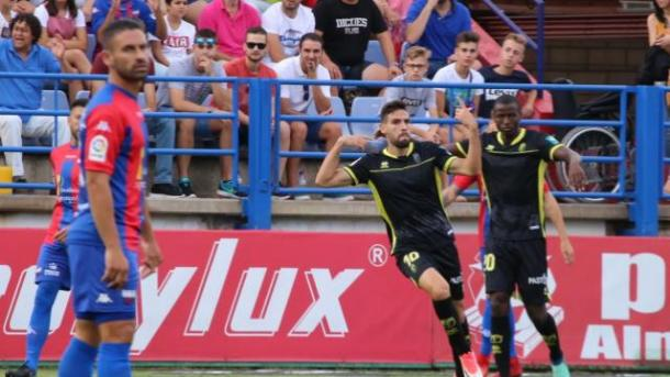 Puertas marcó un doblete   Foto: La Liga