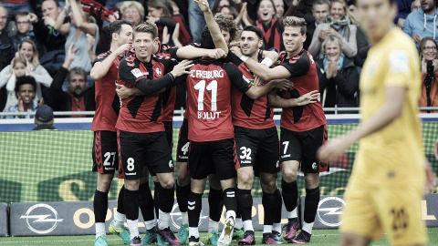 El Eintracht cayó en Friburgo. Foto: Bundesliga