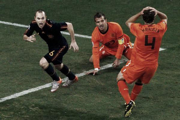 Holanda perdió la final del Mundial 2010. Foto: KNVB