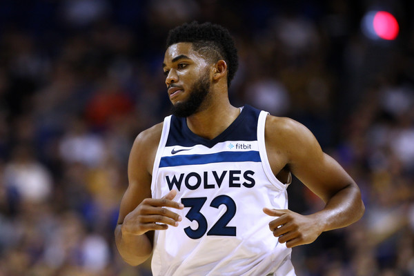 Karl Anthony-Towns, jugador de los Minnesota Timberwolves | Foto: Zhong Zhi / Getty Images AsiaPac