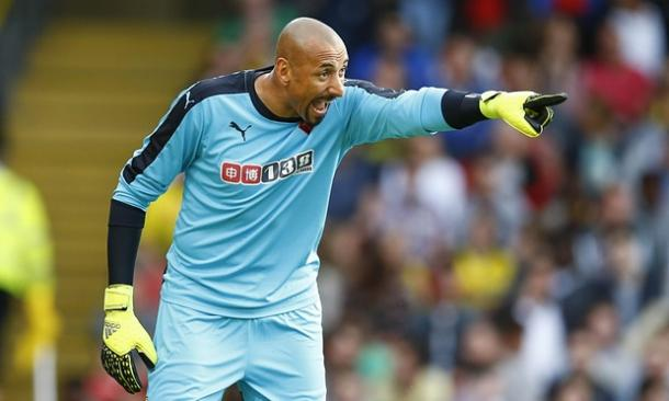 Watford's current number one, Heurelho Gomes   Photo: Guardian