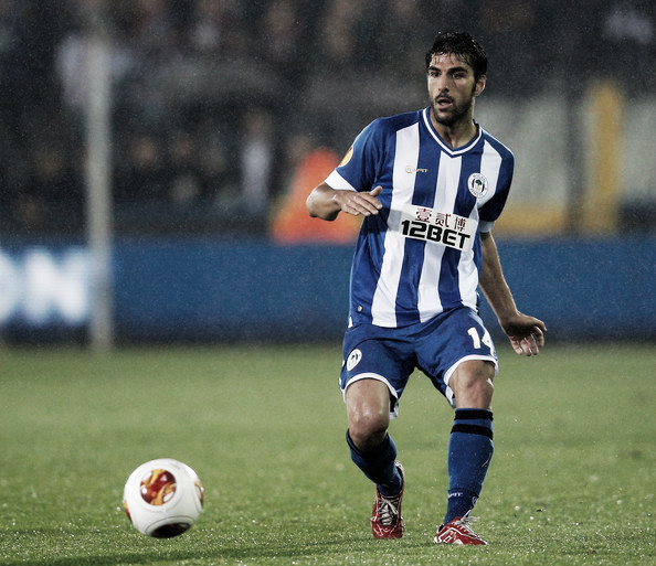 Above: Jordi Gomez in action for former club Wigan Athletic | Photo: zimbio.com