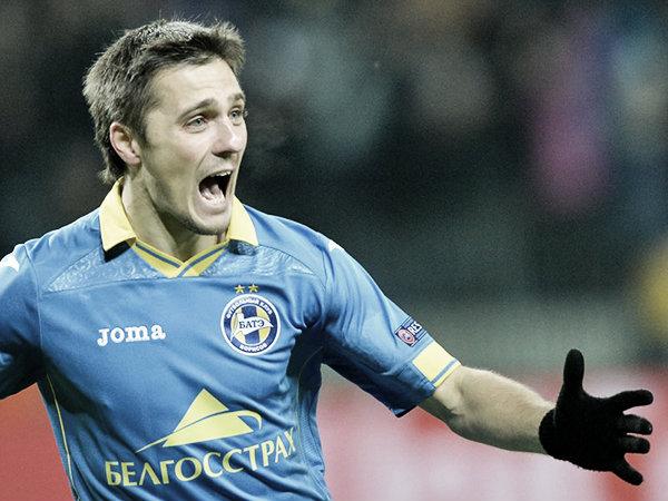 Mikhail Gordejchuk, la estrella del BATE   Foto: Getty Images
