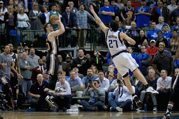 Hayward in azione contro Dallas - Source: Tom Pennington/Getty Images North America