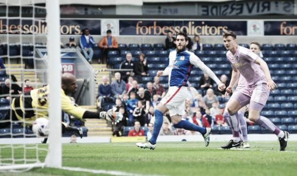 Danny Graham in action for Blackburn Rovers | Photo:Lancashire Telegraph
