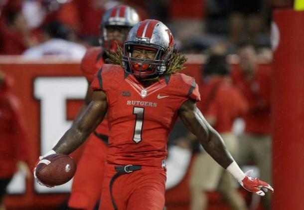 Rutgers will try to get Janarion Grant in space against Washington | Source: Mel Evans - Associated Press