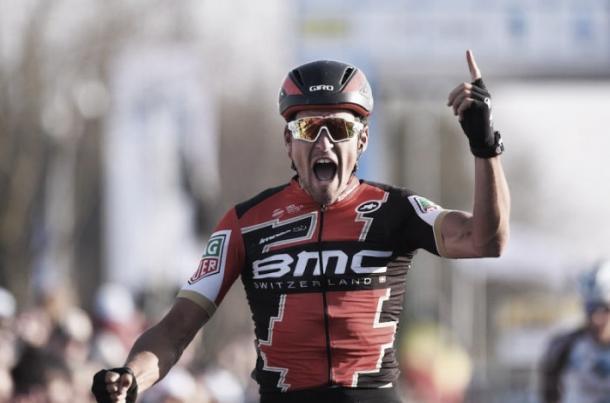 Greg Van Avermaet ya suma tres victorias ésta temporada sobre las piedras | Foto: BMC Racing Team