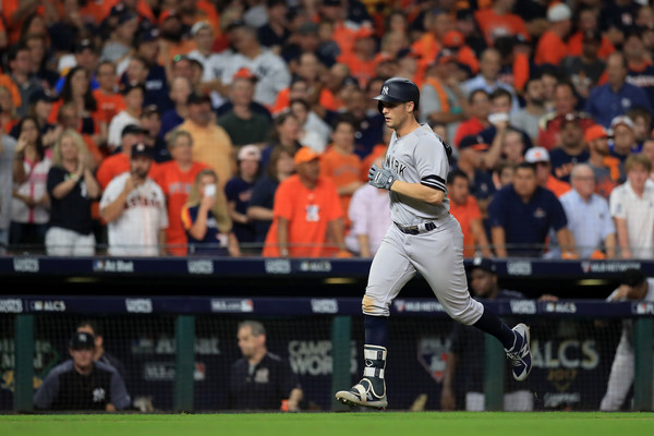 Bird's homer prevented the Yankees form being shut out/Photo: Ronald Martinez/Getty Images