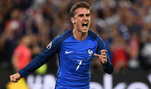 Griezmann é a estrela da seleção francesa // Foto: dailytimes.ng