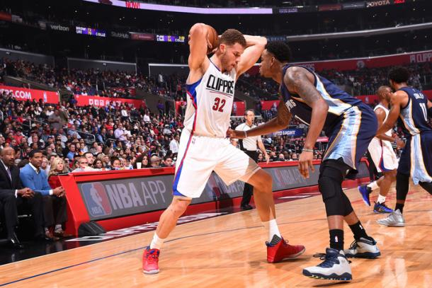 Blake Griffin adds 25 in the Clippers loss. | Photo: Getty Images
