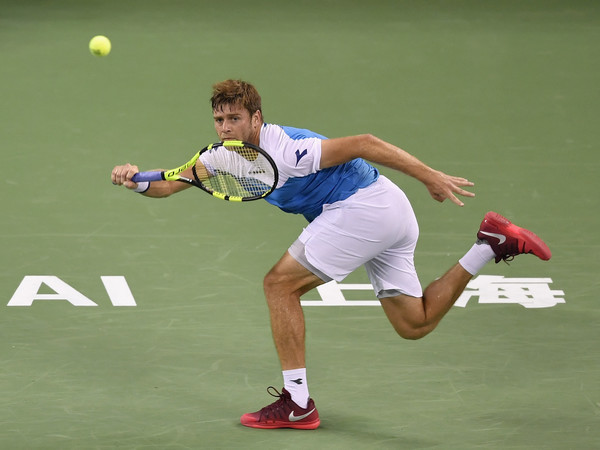 Ryan Harrison hits a forehand | Photo: Kevin Lee/Getty Images AsiaPac