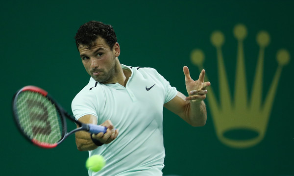 Grigor Dimitrov in action | Photo: Lintao Zhang/Getty Images AsiaPac