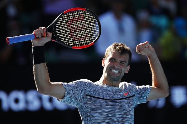 Dimitrov will be eager to qualify for his first grand slam final (Photo: Clive Brunskill/Getty Images Asia Pac)