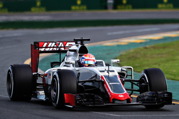 Romain Grosjean permanecerá como primeiro piloto da Haas (Foto: Mark Thompson/Getty Images)