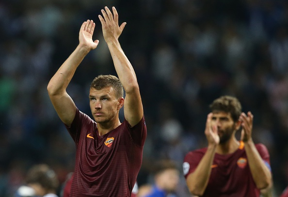 Edin Dzeko (Foto: Gualter Fatia/Getty Images)