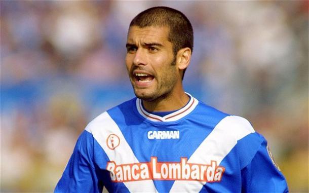 Pep Guardiola al Brescia, telegraph.co.uk
