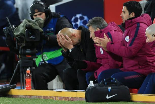 O treinador espanhol não gostou nem um pouco da atuação (Foto: Simon Stacpoole/Offside via Getty Images)